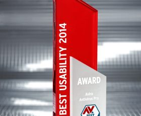 Avira Antivirus Pro Wins Best Usability Award