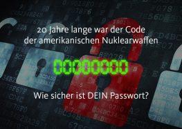 World Password Day: Wie sieht ein sicheres Passwort aus?