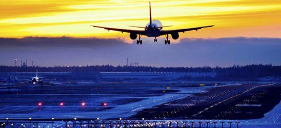 Sunset landing II