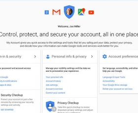 Google Introduces My Account, Makes Your Privacy and Security Control Easier