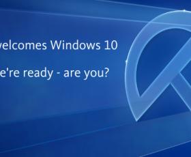 Avira Welcomes Windows 10
