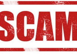Recent scams in my spambox