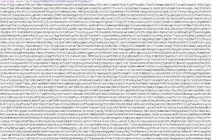 The newly hardened Dridex settings file