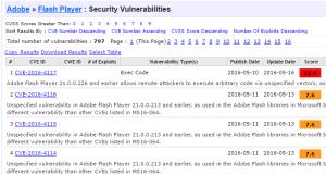flash vulnerabilities