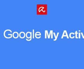 Confidentialité: Google Mon activité affiche les données collectées