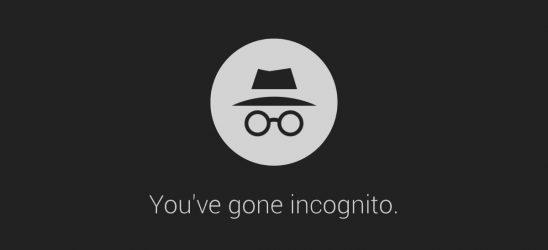 incognito, inkognito