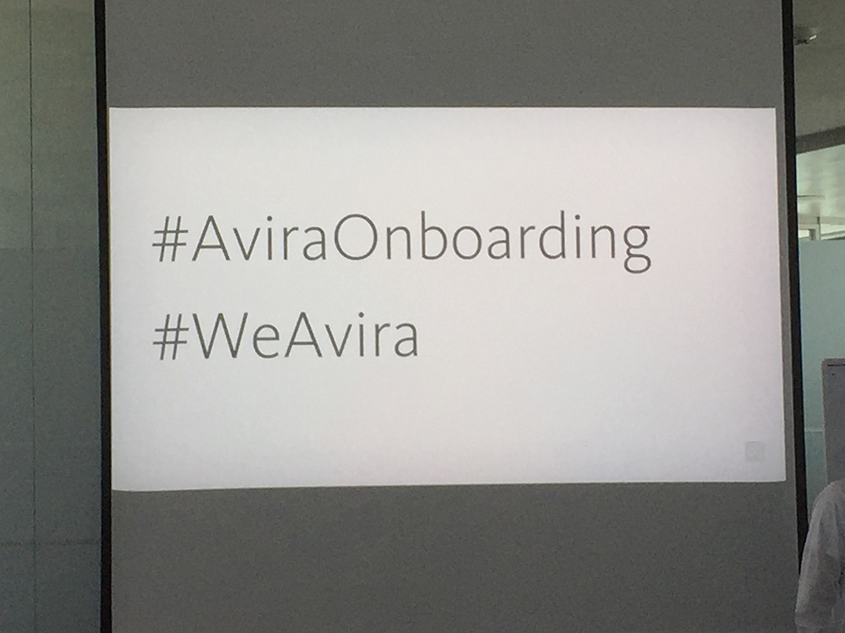 Onboarding @Avira - Hashtags