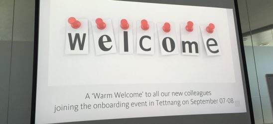 Onboarding @Avira - Welcome!