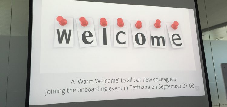 Onboarding – New employees at Avira