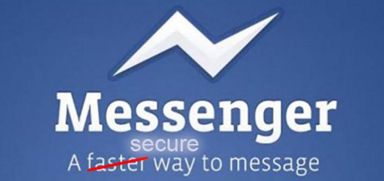logo facebook message