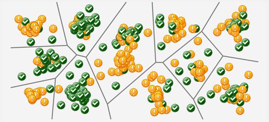 Tesser - Voronoi diagram, tessern