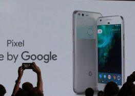 Here it is – Google's new Pixel smartphone