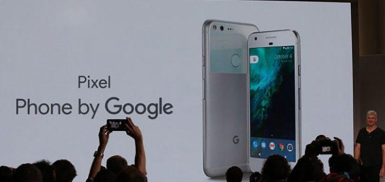 Here it is – Google's new Pixel smartphone