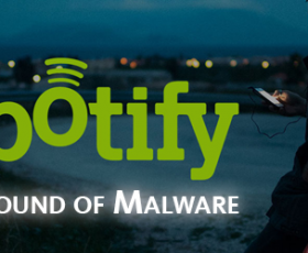 "Spotify serves listeners ""The Sound of Malware"""