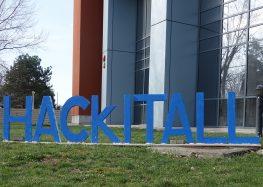 HackITAll hackathon – 60 students, 20 teams, 3 winners, 1 Polly