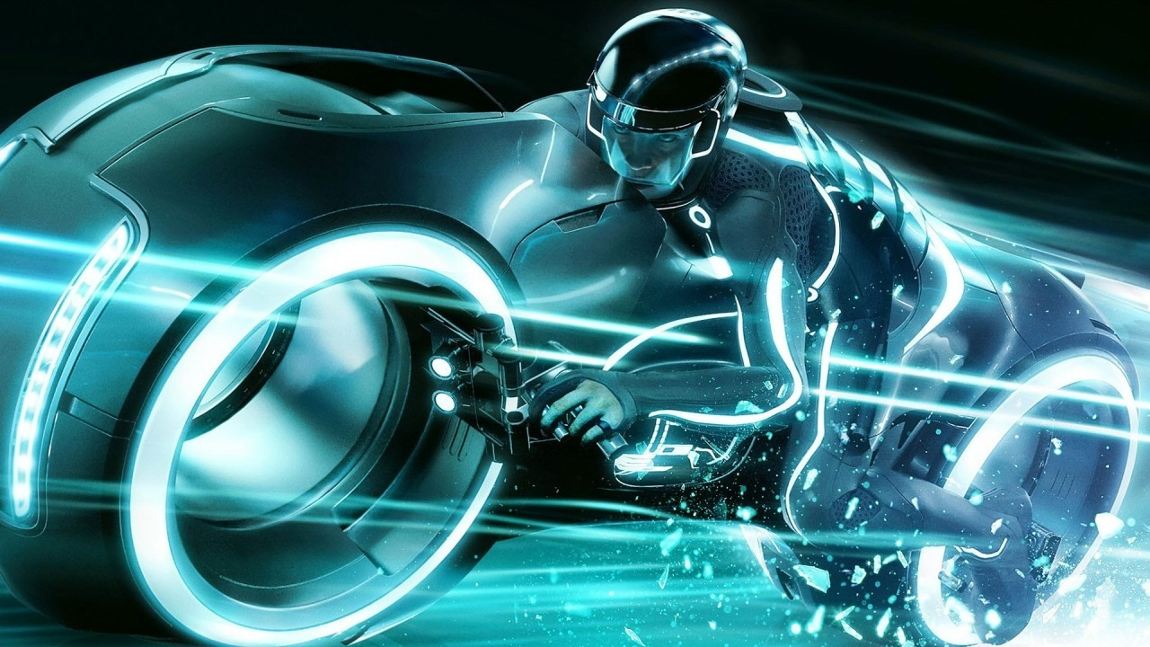 bmws vision next 100 looks like the motorbike from tron: legacy - in