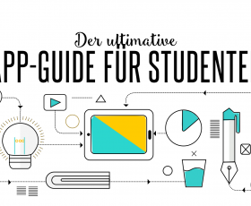 [Infografik] Der ultimative App-Guide für Studenten