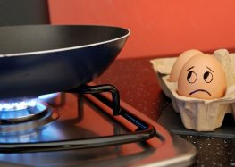 Protezione dei dati e uova crude