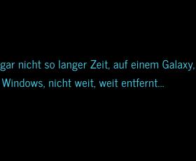 Vor gar nicht so langer Zeit, auf einem Galaxy, Mac und Windows, nicht weit, weit entfernt …