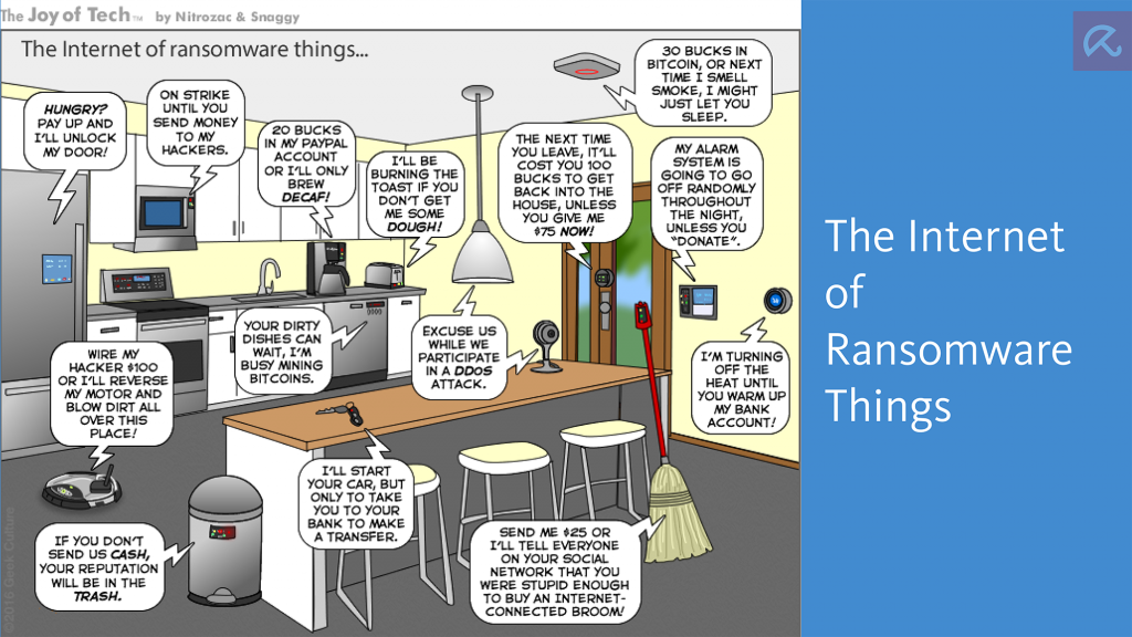 Don't forget the S in IoT!