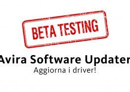 La novità di Avira Software Updater: Driver Updater