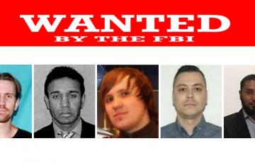 Die vom FBI meistgesuchten Cyberkriminellen