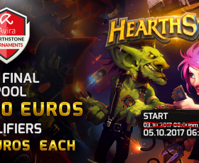 eSports: Avira Hearthstone Tournament