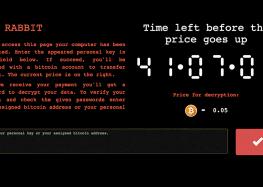 Bad Rabbit – Ransomware ohne Niedlichkeitsfaktor