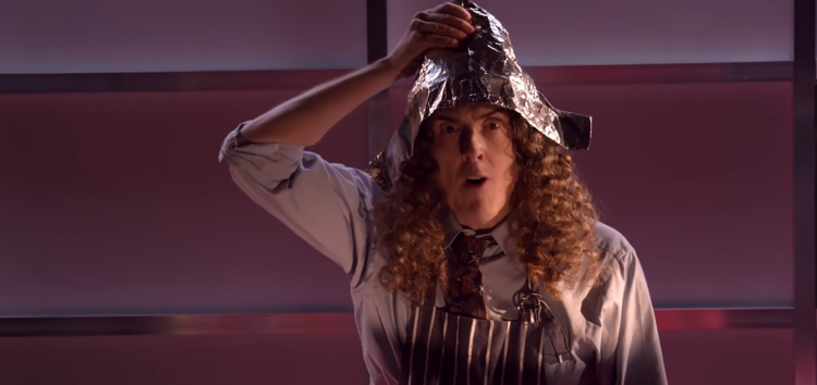 Put a foil hat on the router, not your head