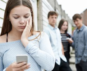 Cyber-bullying, teens at risk