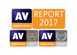 AV-Comparatives décerne le prix « Top Rated Product 2017 » à Avira Antivirus Pro