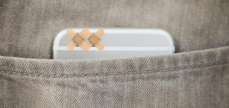 Protection d'appareil photo : un pansement ne suffit pas