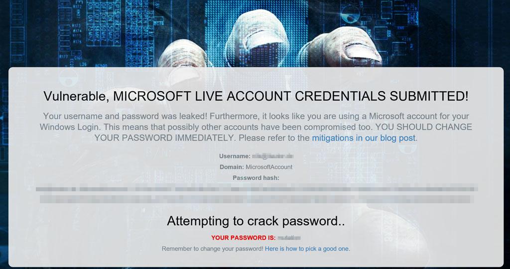 Ihre Kontodaten sind unsicher