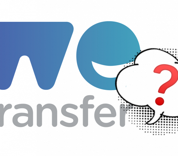 """<span class=""""fragederwoche"""">Question of the week:</span> How safe is file transfer via WeTransfer?"""