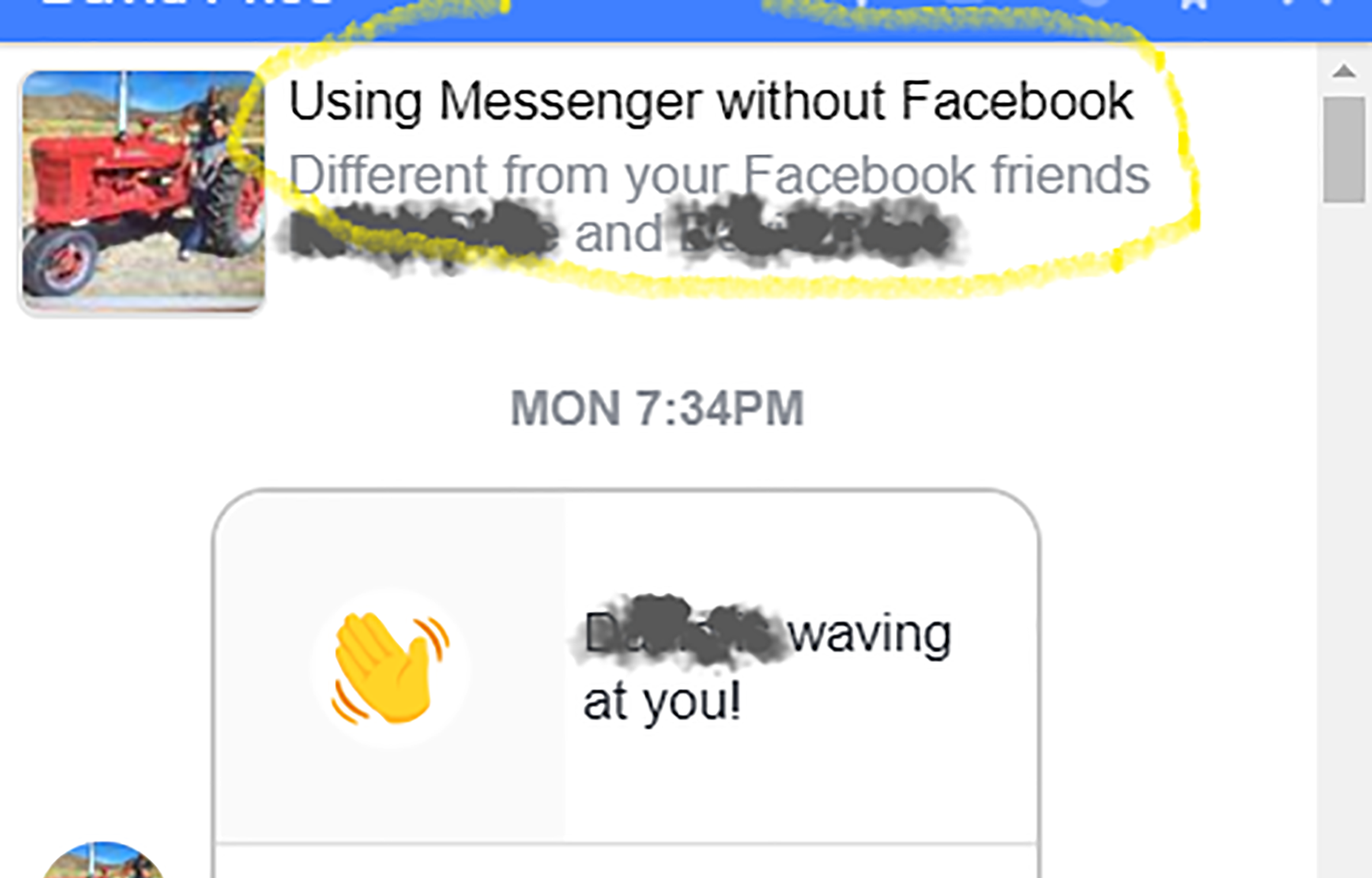 can you still use messenger without facebook