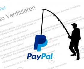 PayPal-Betrugsmail: Ein Klick und der Account ist weg