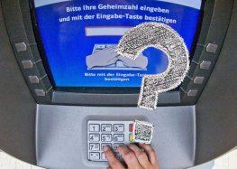"""<span class=""""fragederwoche"""">Frage der Woche:</span> """"Wie sicher sind Geldautomaten?"""""""