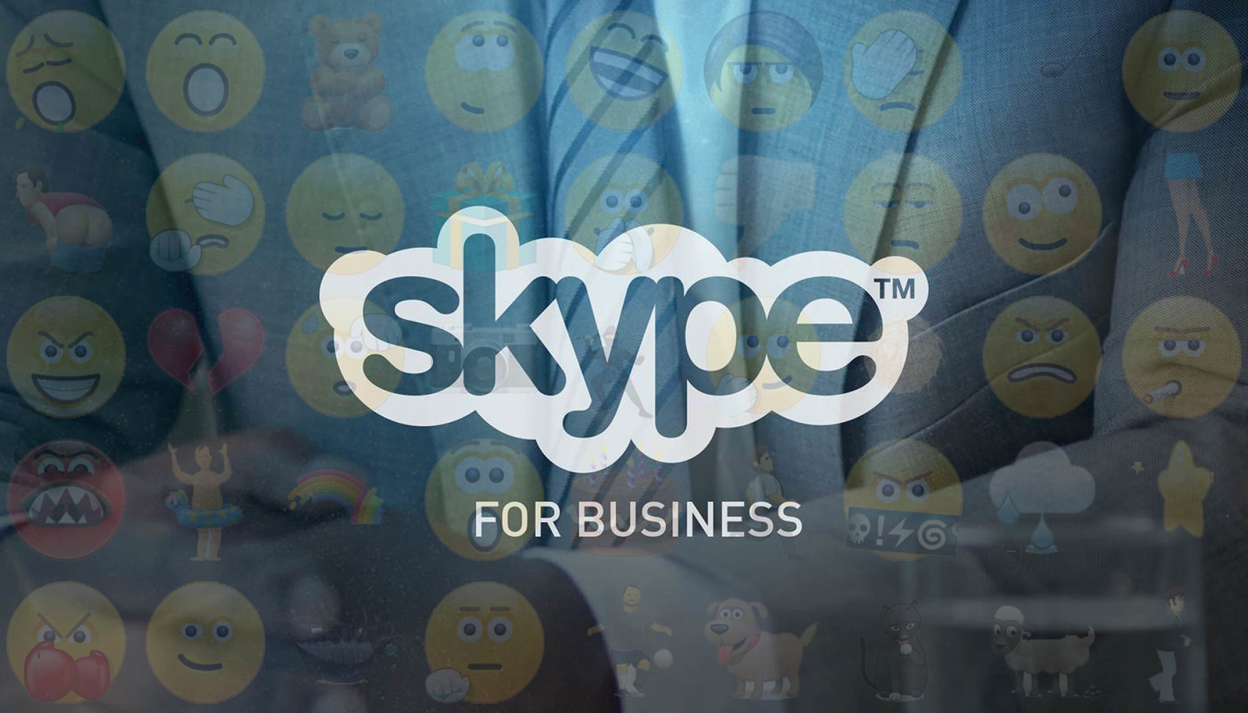 how to add emojis to skype for business