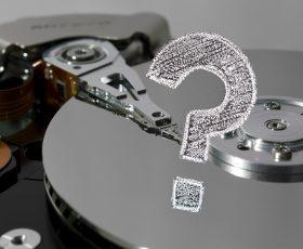 """<span class=""""fragederwoche"""">Frage der Woche:</span> """"Wie kann ich Daten auf meinen Festplatten sicher vernichten?"""""""