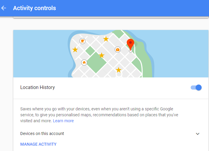 What Google tracks: Is there a link between search and maps