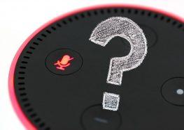 """<span class=""""fragederwoche"""">Frage der Woche:</span> Überwacht mich Alexa wirklich?"""