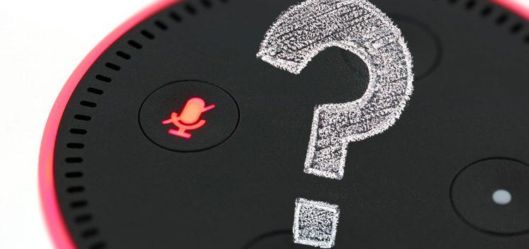 <span class=fragederwoche>Frage der Woche:</span> Überwacht mich Alexa wirklich?