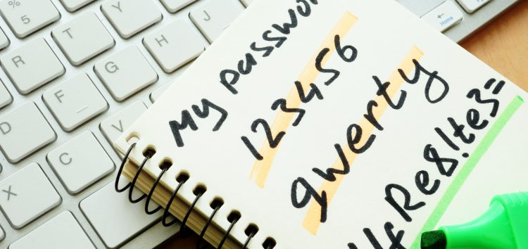 <span class=fragederwoche>It's time to change your password(s) day </span>Because 789 is just not good enough to make your online life secure