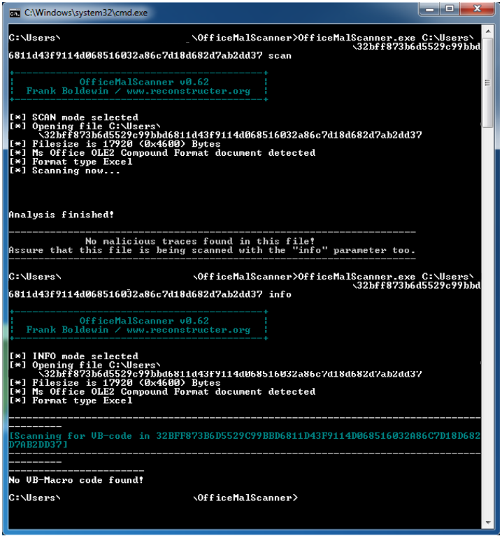 New malware in old Excel skins - Avira Blog