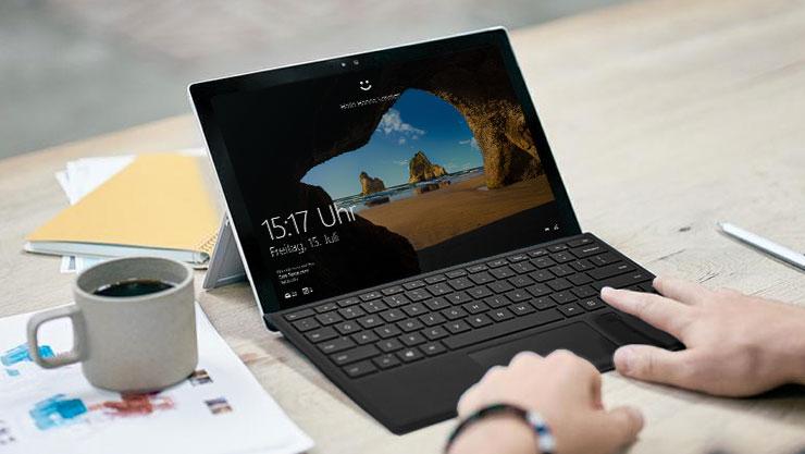 Sperrbildschirm von Windows 10
