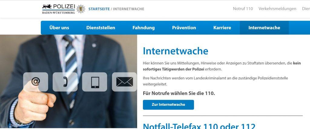 Internet-Polizei