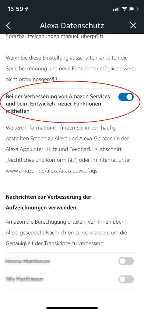 Smarte Lautsprecher: Amazon Alexa