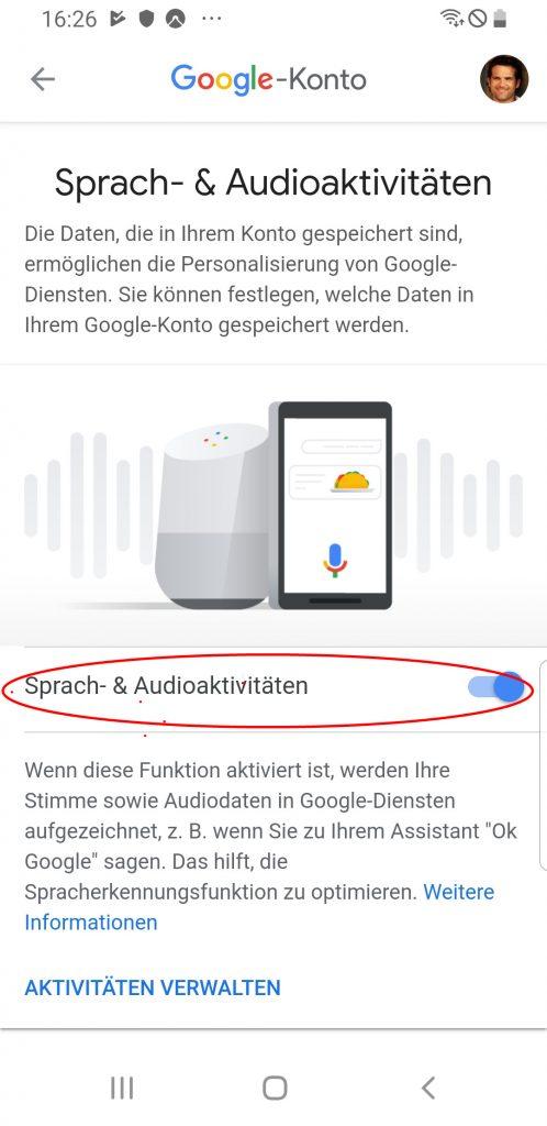 Smarte Lautsprecher: Google Assistant