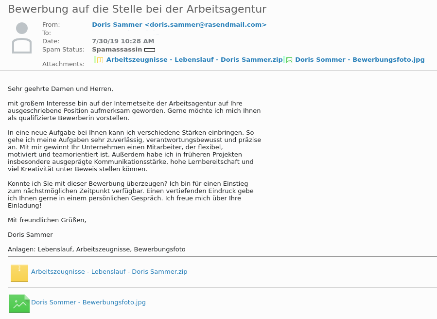 GermanWiper - Email